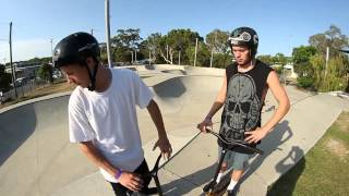 ryan williams vs james morgan   game of scoot
