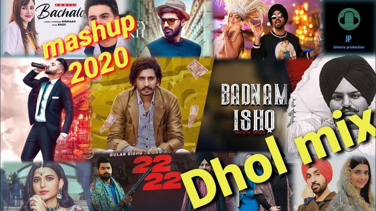 Download New punjabi mashup Dhol mix November 2020  Ft JP lahoria production
