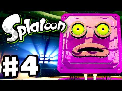 Splatoon - Gameplay Walkthrough Part 4 - The Mighty Octostomp! (Nintendo Wii U)