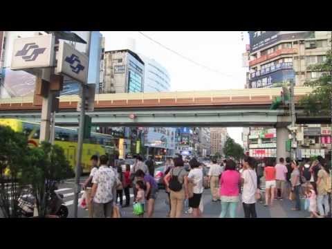 20X Time Lapse Video @ Taipei Downtown