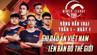 PMWL EAST 2020 | Vòng Đấu Loại | Tuần 1 - Ngày 1 PUBG MOBILE World League Season Zero 2020