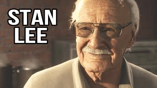 Stan Lee Cameo - Spider-Man PS4