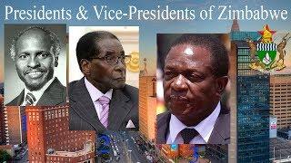 Presidents & Vice-Presidents of Zimbabwe (1980–present)