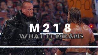M218: What It Means - WWE Undertaker vs Triple H 2011/12 Feud Music Video