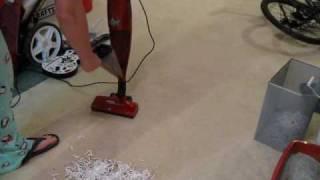 hoover vs bissel vacuum test