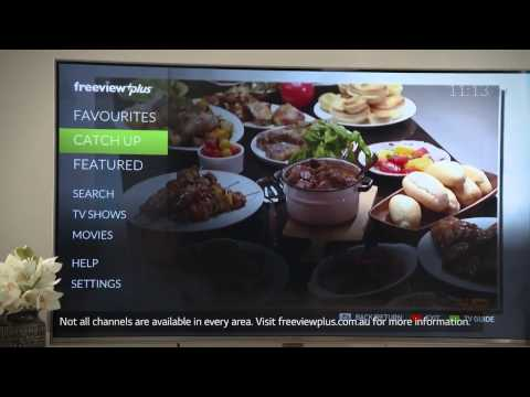 How to use FreeviewPlus on LG Smart TV with Magic Remote