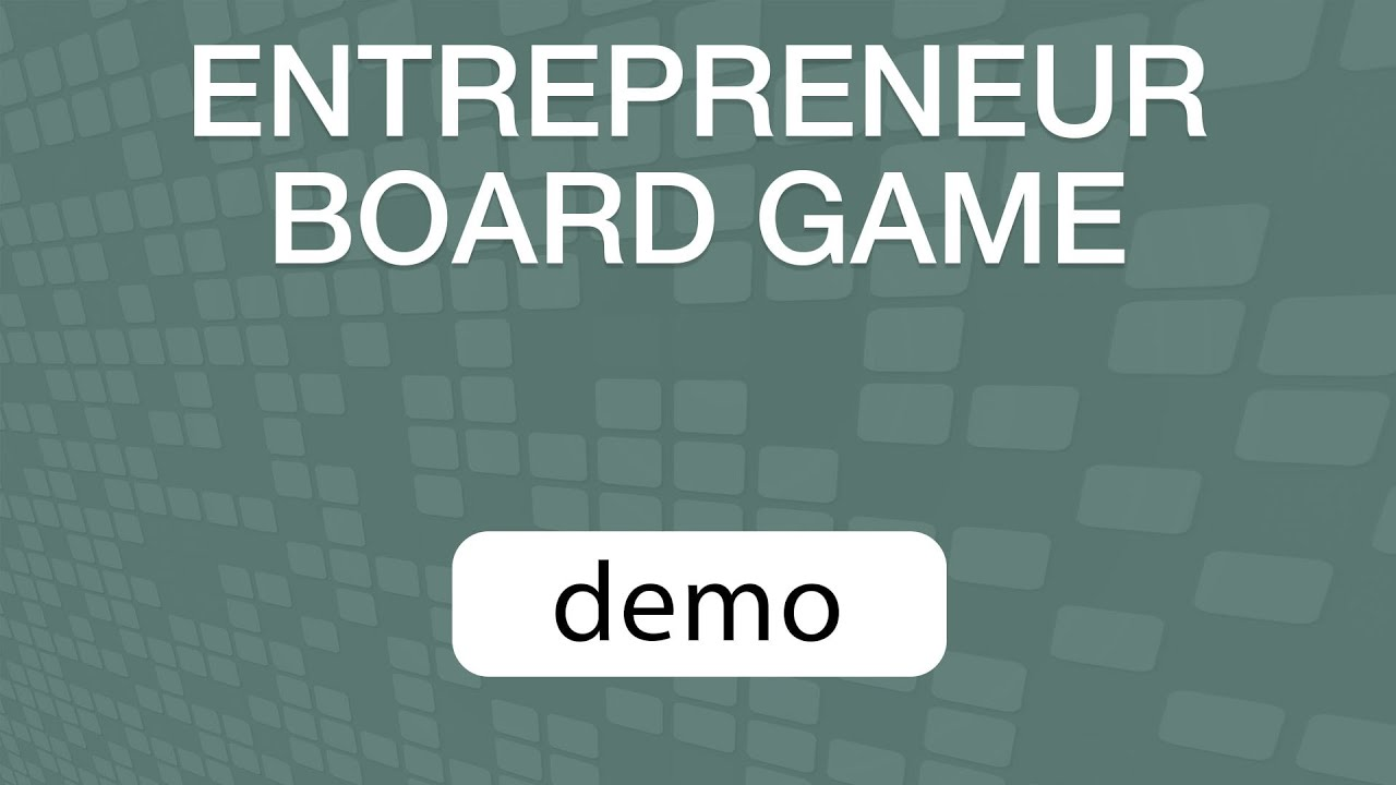 GoVenture Entrepreneur Board Game TUTORIAL VIDEO