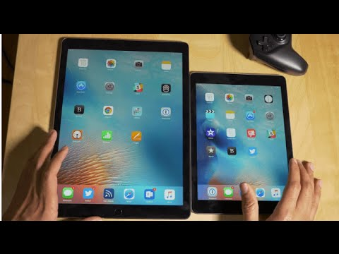Apple iPad Pro vs iPad Mini 4 - Which is faster and , Is BIGGER  BETTER?
