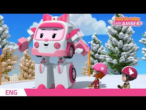 🚨 Daily life Safety with AMBER | EP 21 - 24 | Robocar POLI | Kids animation