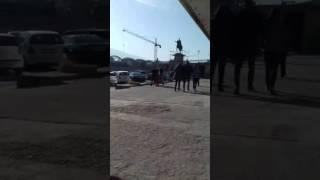 Busti i Skenderbeut në Shkup