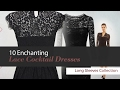 10 Enchanting Lace Cocktail Dresses Long Sleeves Collection