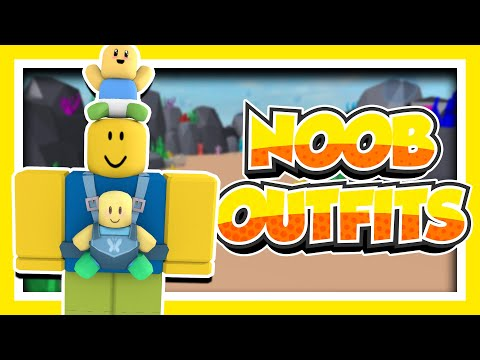 Types Of Noobs Outfits On Roblox Youtube