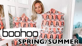 AD HUGE BOOHOO SPRING/SUMMER 2020 TRY ON HAUL *what's new in* | Lucy Jessica Carter