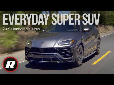 2019 Lamborghini Urus REVIEW: Lambo speed, Lambo handling, IN AN SUV!