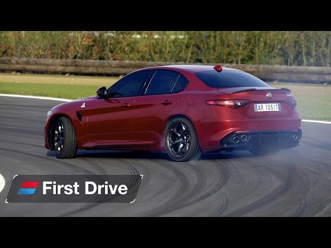 2016 Alfa Romeo Giulia Quadrifoglio first drive review The Italian M3