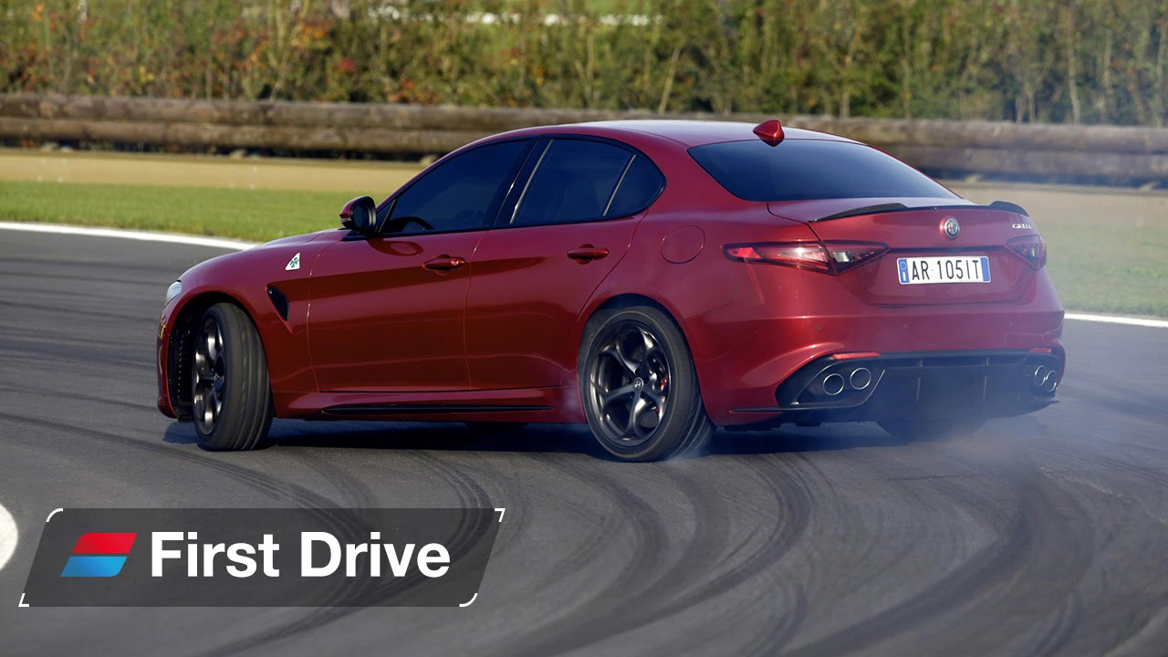 Original 2016 Alfa Romeo Giulia Quadrifoglio First Drive Review