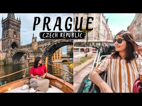 EXPLORING PRAGUE IN A DAY | Vintage Car Ride, Beer Spa, Boat Ride | Czech Republic Vlog #1