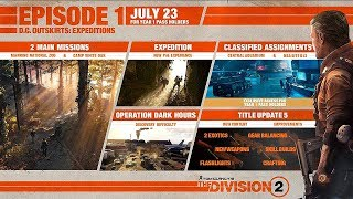 The Division 2 - Episode 1: DC Outskirts