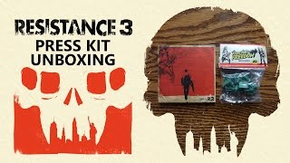 Resistance 3 Press Kit Edition Unboxing & Review - HD 1080p