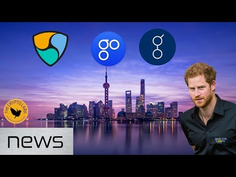 Bitcoin & Cryptocurrency News - Bitfinex Not Guilty, Prince Harry, & China