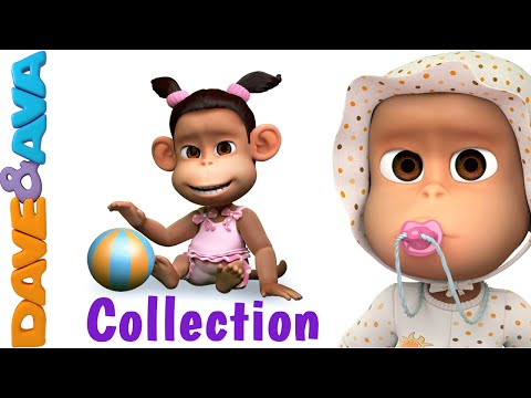 Ten in the Bed | Number Song | Nursery Rhymes and Baby Songs Collection from Dave and Ava
