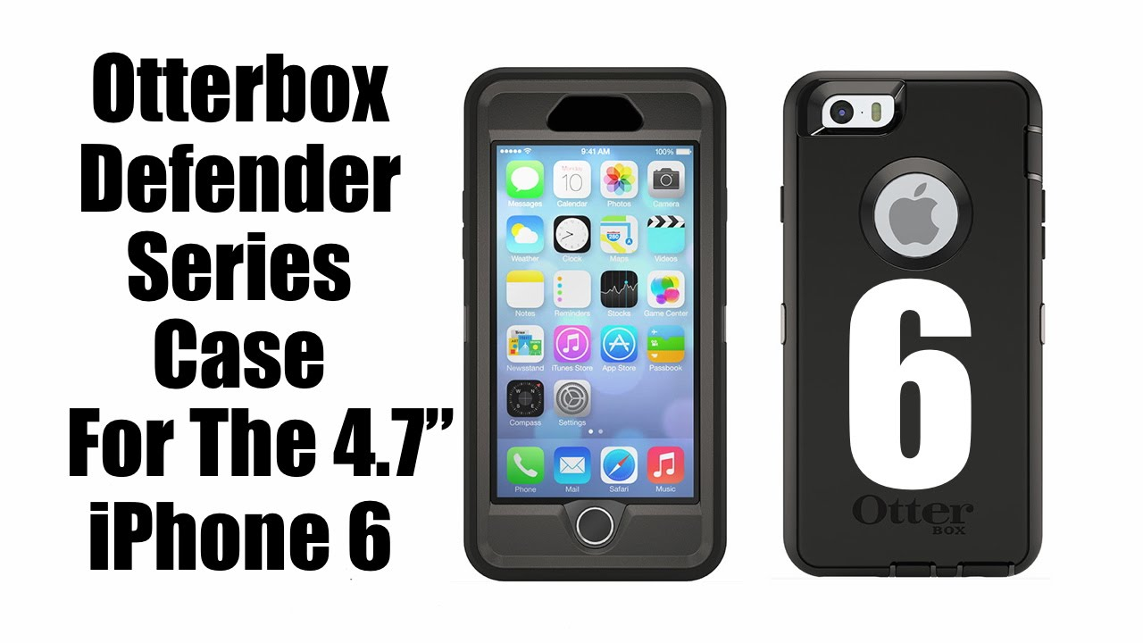 Otterbox iPhone 6 Defender Series Case - YouTube