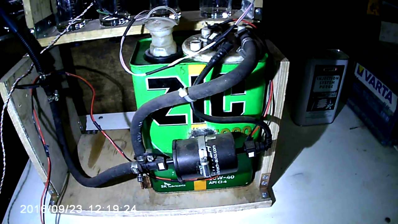 оно самодельный промывочный прибор для двигателя поисках