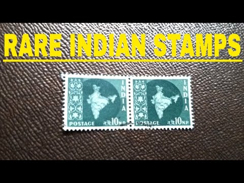 RARE Map Of India Green 10 NP Stamps|| Indian Postal Stamps History || Map Of India Stamps History