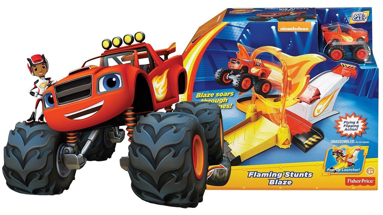 Blaze e le mega macchine apriamo la rampa con cerchio di for Blaze e le mega macchine youtube