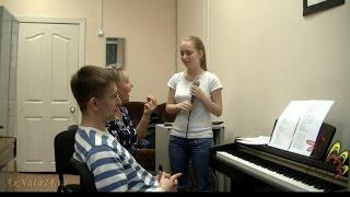 Урок вокала.Вокализ и развитие гармонического слуха Birdy – Shelter ч.4-я (2)