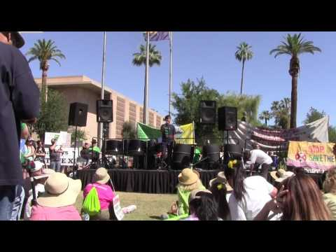 Phoenix Climate March- Chispa