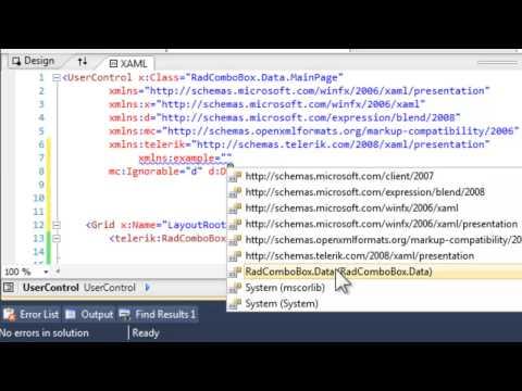 Data binding with ComboBox for XAML - YouTube