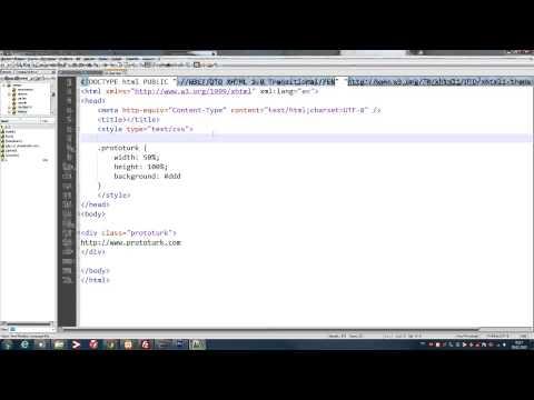 CSS İpucu #1 (%100 Yükseklik) thumbnail