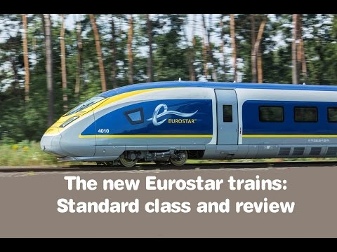 The new Eurostar: Standard class review