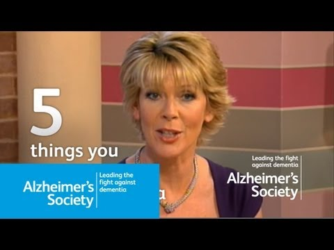 Five Things You Should Know About Dementia Alzheimers Society