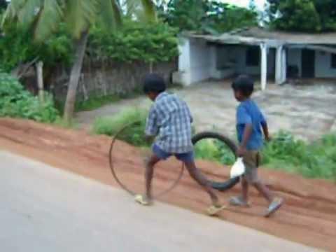 India's Slum Children - Slum Children Playing