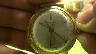 #2 Men`s RARE Vintage Soviet USSR Russian watch COSMOS 1MCHZ POLJOT 29 Jewels
