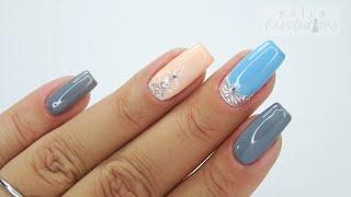 Sweet pastel ornament nails art Tutorial / Sunflower Professional #ornamentsnails