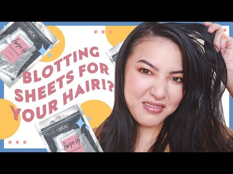 Blotting Sheets For Your Hair!? | GBT | soothingsista