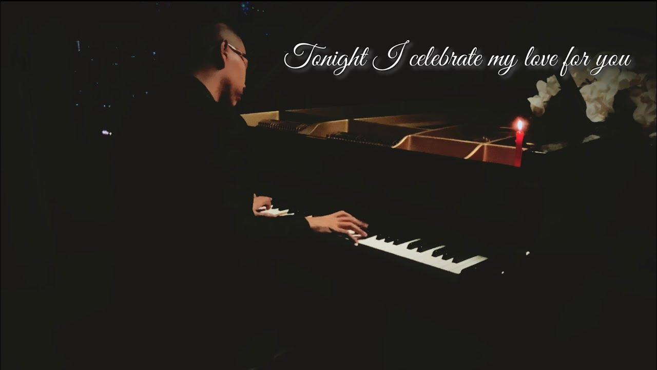 🎵 Tâm sự piano đêm khuya 🌙 #9   Tonight I Celebrate My Love for You   Manh Piano