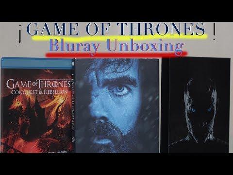 Game Of Thrones BLURAY UNBOXING /Temporada 7