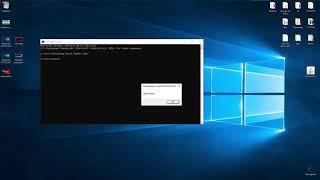 Делаем простое диалоговое окно через cmd