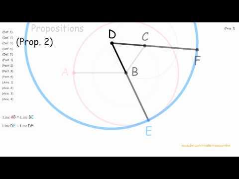 Euclid's elements: proposition 2