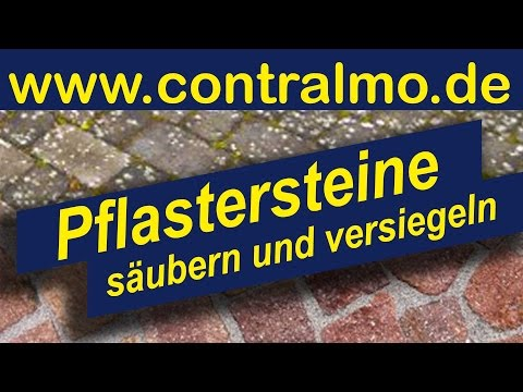 flechten moos und algen entfernen pflastersteine werden wie neu youtube. Black Bedroom Furniture Sets. Home Design Ideas