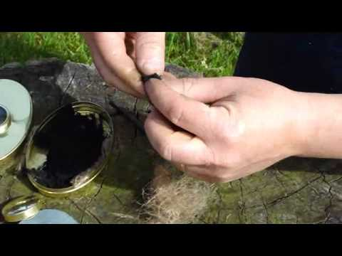 Starting a fire with Flint and Steel.wmv