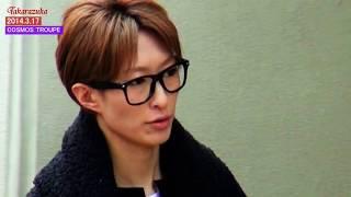 2014.3.17撮影 花組千秋楽 蘭寿とむ大劇場卒業 蓮水ゆうや------2014.7....