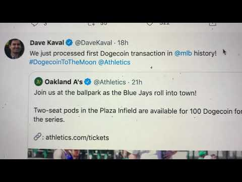 Oakland Athletics Allow Dogecoin Purchases But When Will Coinbase Add The Cryptocurrency?