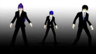 [MMD]Kaito, Kiyoteru and Gakupo[Moves Like Jagger + Download Link ]