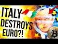 BITCOIN $10K - ITALY EXITS EURO?! Crypto can't fail... 😍 Google + Chainlink ($LINK)