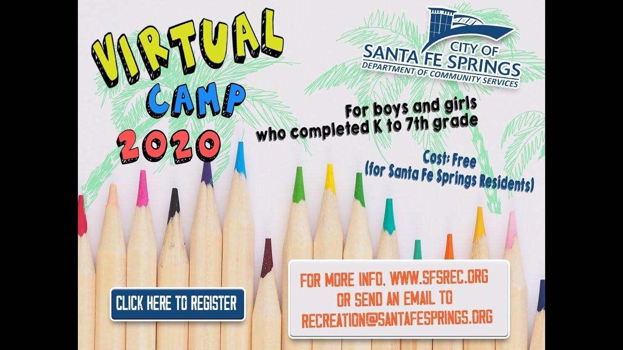Virtual Summer Camp - YouTube
